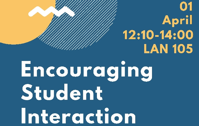 SENM Workshop: Encouraging Student Interaction